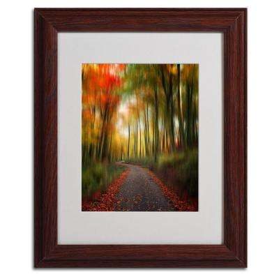 11 in. x 14 in. The Lost Path Matted Framed Art