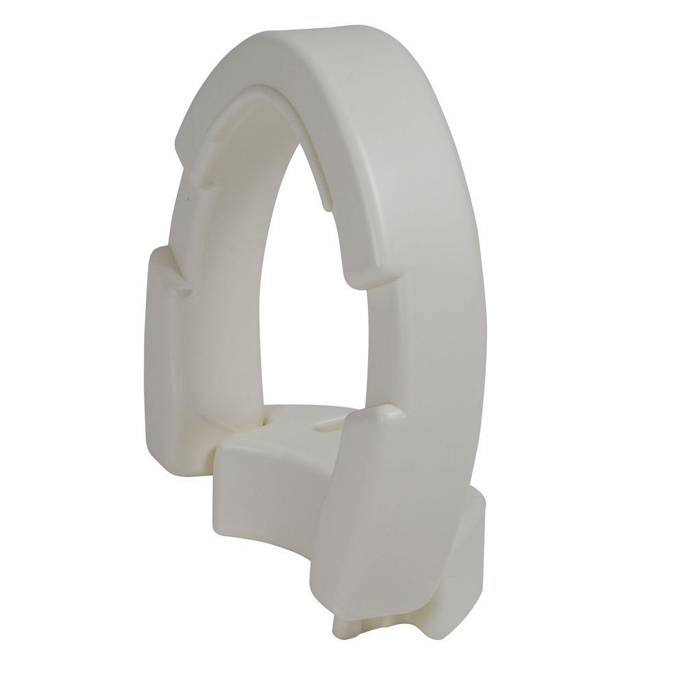 Superb Drive Hinged Elongated Toilet Seat Riser Bralicious Painted Fabric Chair Ideas Braliciousco
