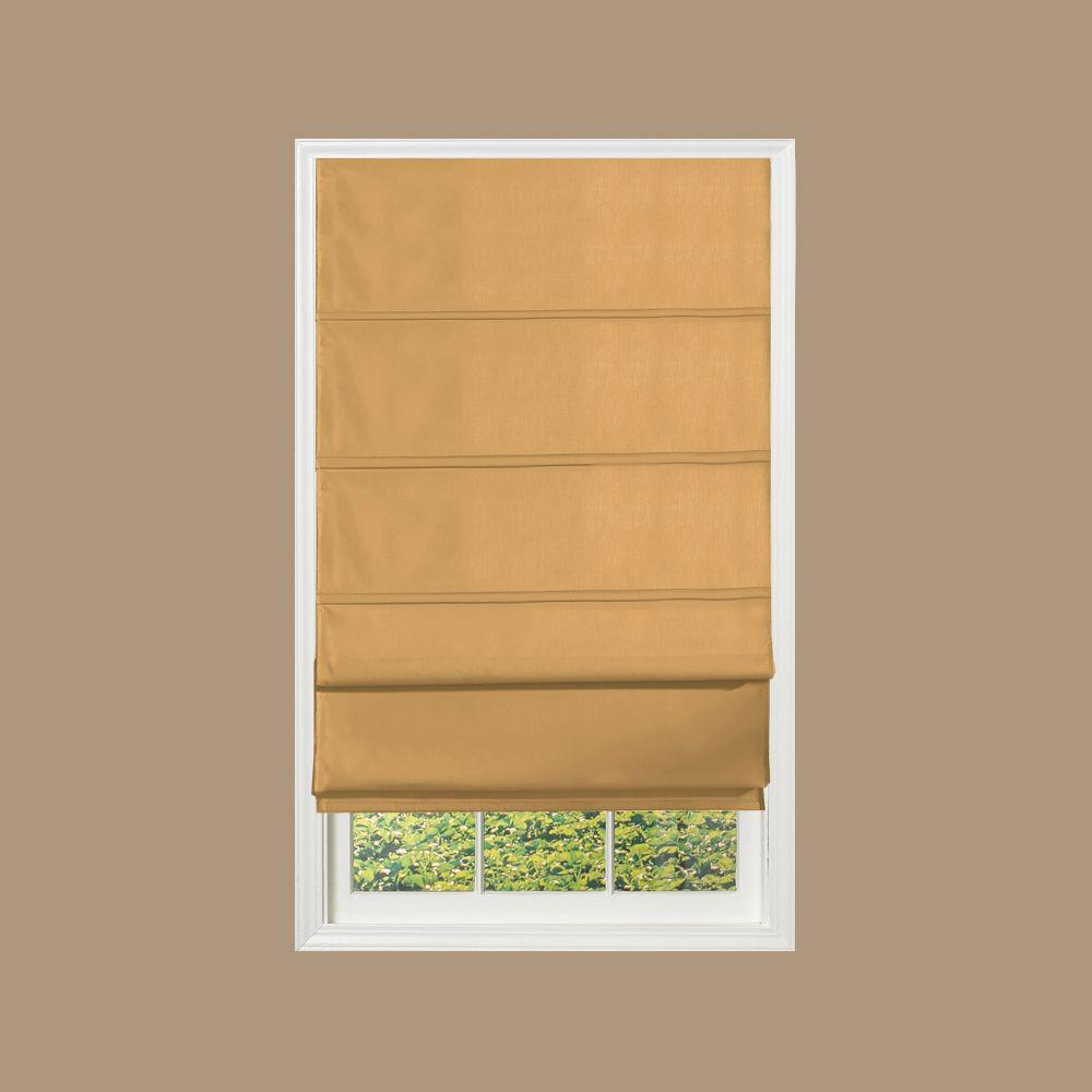 Radiance Khaki Fabric Versa Shade, 72 in. Length (Price Varies by Size)-DISCONTINUED