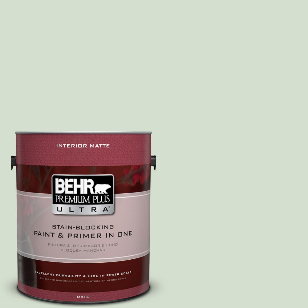 1 gal. #440E-2 Herbal Mist Flat/Matte Interior Paint