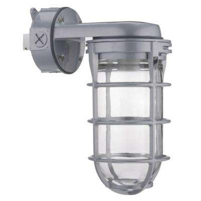 100W Metal Halide Utility Vapor Tight Wall Mount Fixture