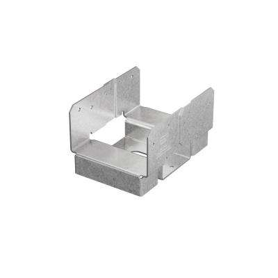 ABA 4 in. x 6 in. ZMAX Galvanized Adjustable Post Base