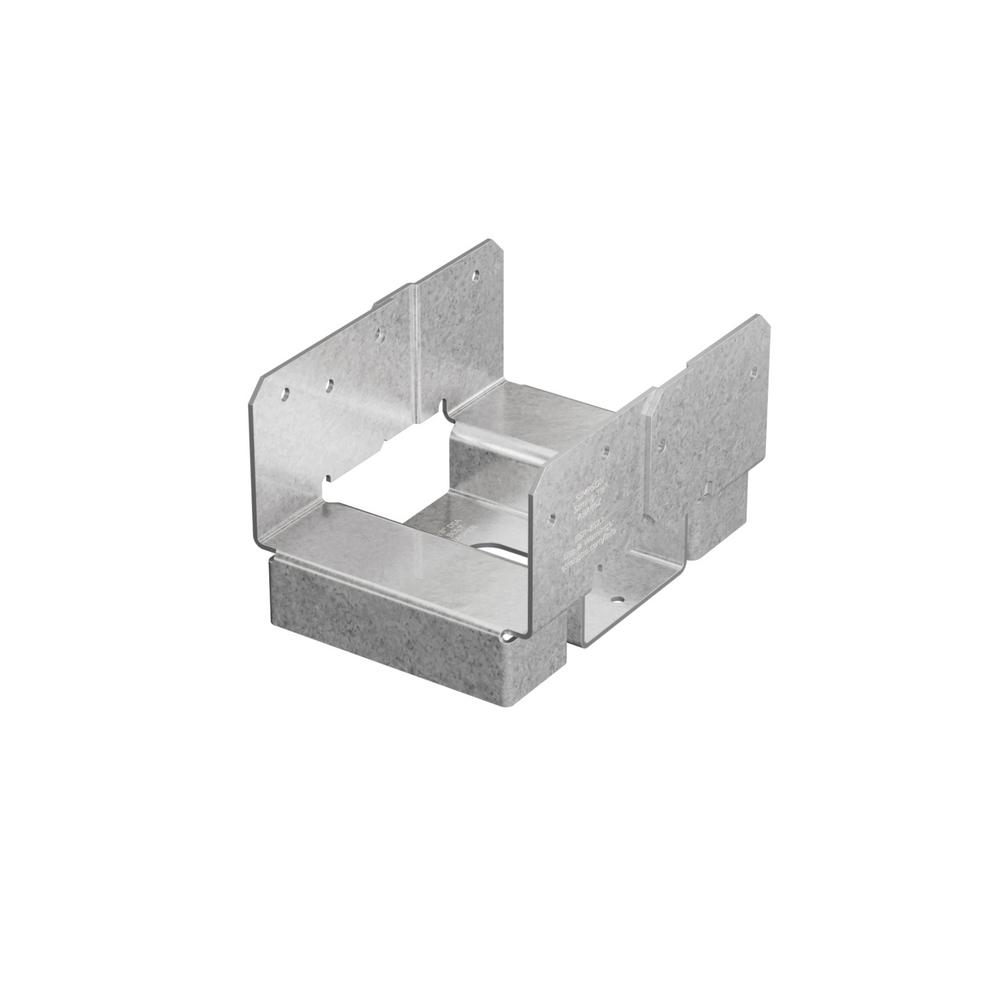 Simpson Strong-Tie ABA 4 in  x 6 in  ZMAX Galvanized Adjustable Post Base