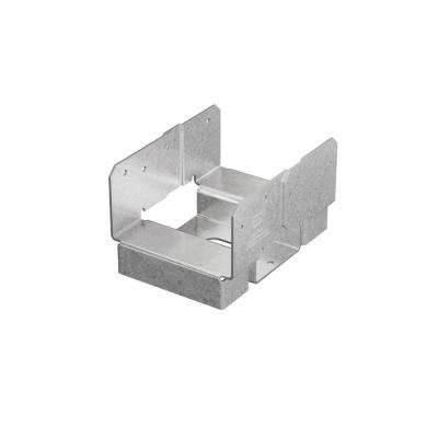 ABA ZMAX Galvanized Adjustable Standoff Post Base for 4x6 Nominal Lumber