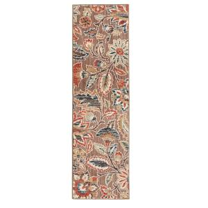Home Decorators Collection Elyse Taupe 2 ft. x 7 ft. Runner by Home Decorators Collection