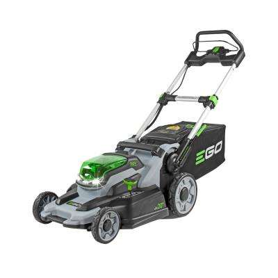 20 in. 56-Volt Lithium-ion Electric Walk Behind Mower Kit with 7.5Ah Battery and Charger Included