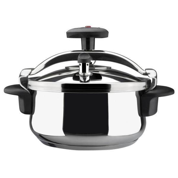 Magefesa Star 4 Qt. Stainless Steel Stovetop Pressure Cookers 01OPSTACO04