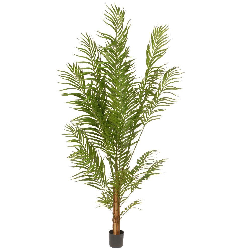 National Tree 5.8 ft. Deluxe Areca Potted Palm Tree, Green