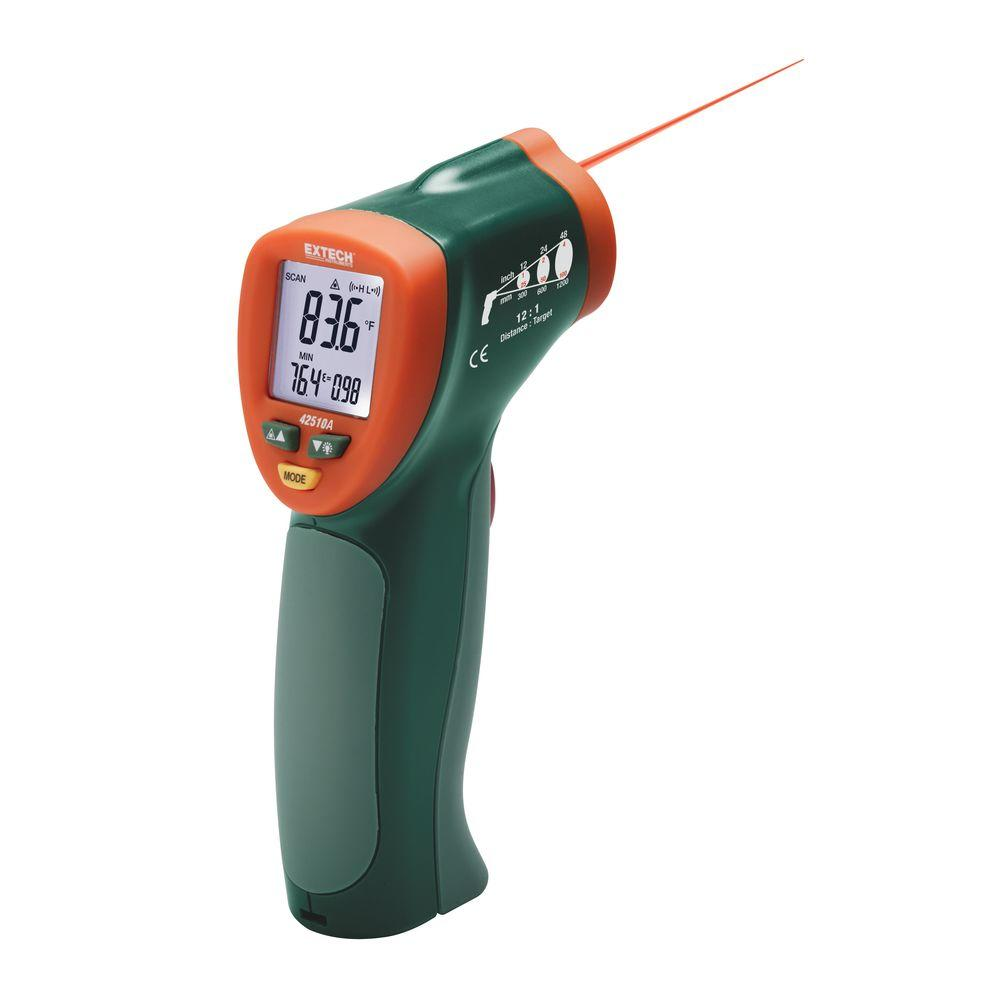 1200F (538C) 12:1 Compact Laser IR Thermometer