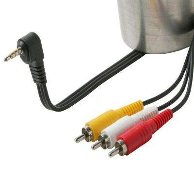 6 ft. 3.5 mm to 3-RCA Camcorder Cable