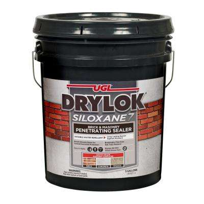 Siloxane 7 5 gal. Clear Invisible Exterior Brick and Masonry Penetrating Sealer