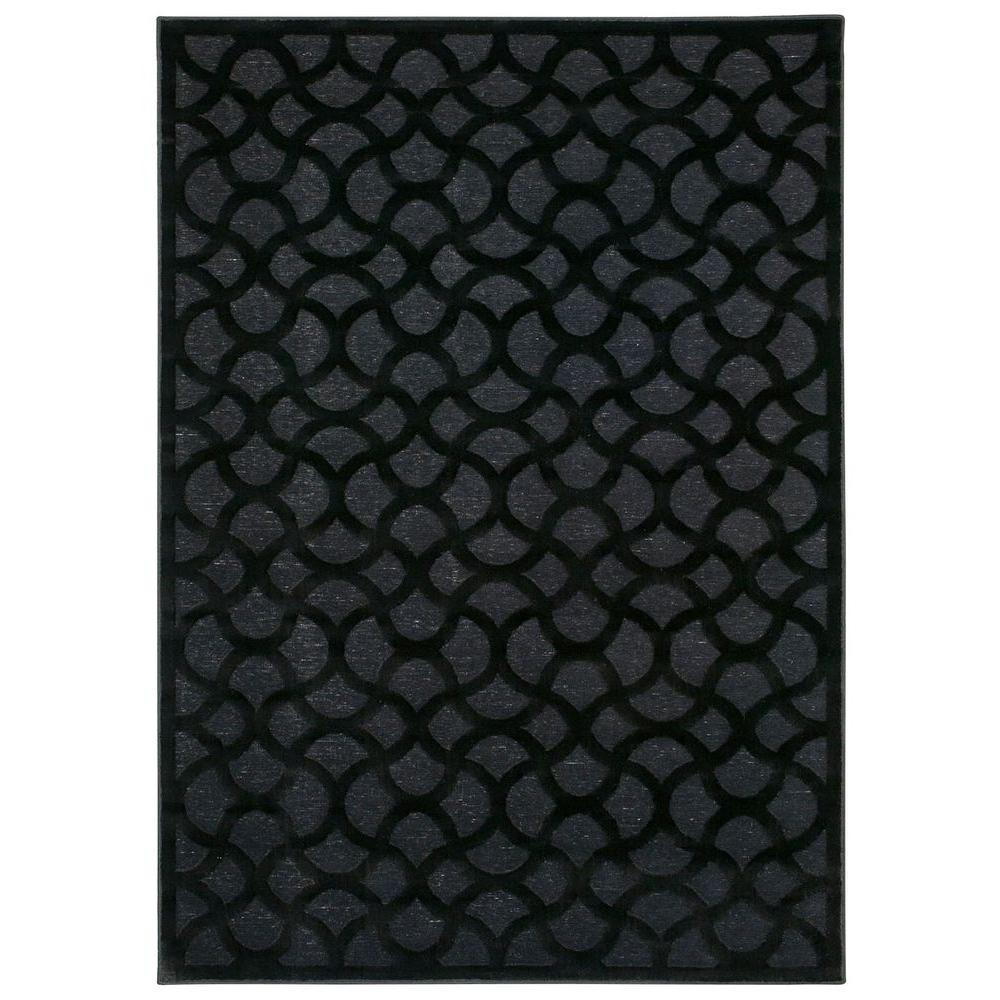Ultima Black 7 ft. 9 in. x 10 ft. 10 in.