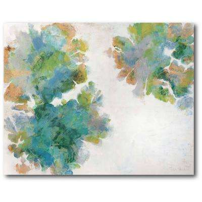 "30 in. x 40 in. ""Lichen II"" Gallery Wrapped Canvas Printed Wall Art"