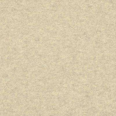 Premium Self-Stick First Impressions Flat Ivory Texture 24 in. x 24 in. Carpet Tile (15 Tiles/60 sq. ft./case)