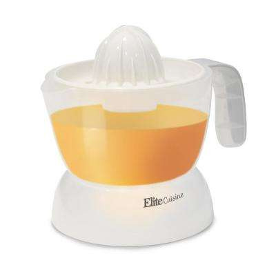 Cuisine 16 oz. Transparent Electric Citrus Juicer