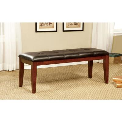 Foxville Transitional Espresso Style Bench