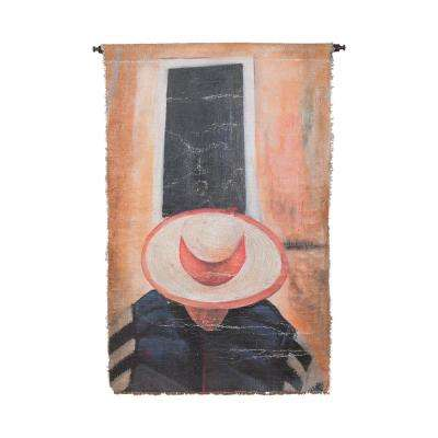 "Multicolor ""Red Hat"" Wall Tapestry"