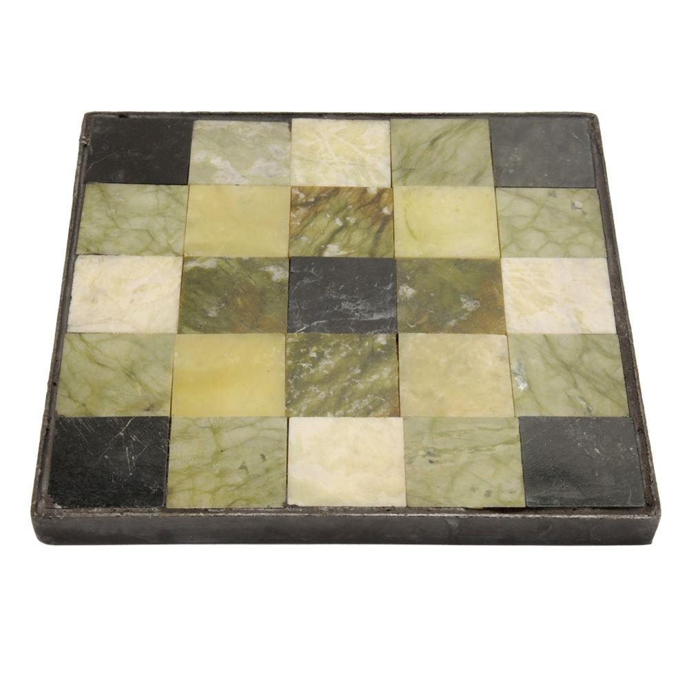 Outdoor Essentials 12 in. Square Tiffany Jade Tilestone Garden Stone