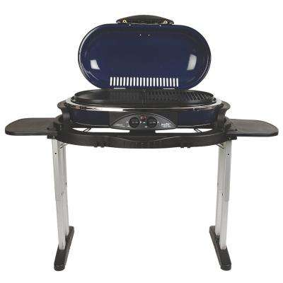RoadTrip LX 20,000 BTU 2-Burner Portable Propane Grill in Blue