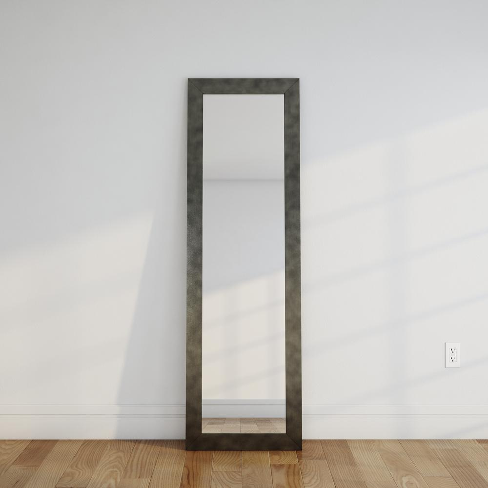 full length wall mirrors. Clouded Gunmetal Full Length Wall Mirror Mirrors