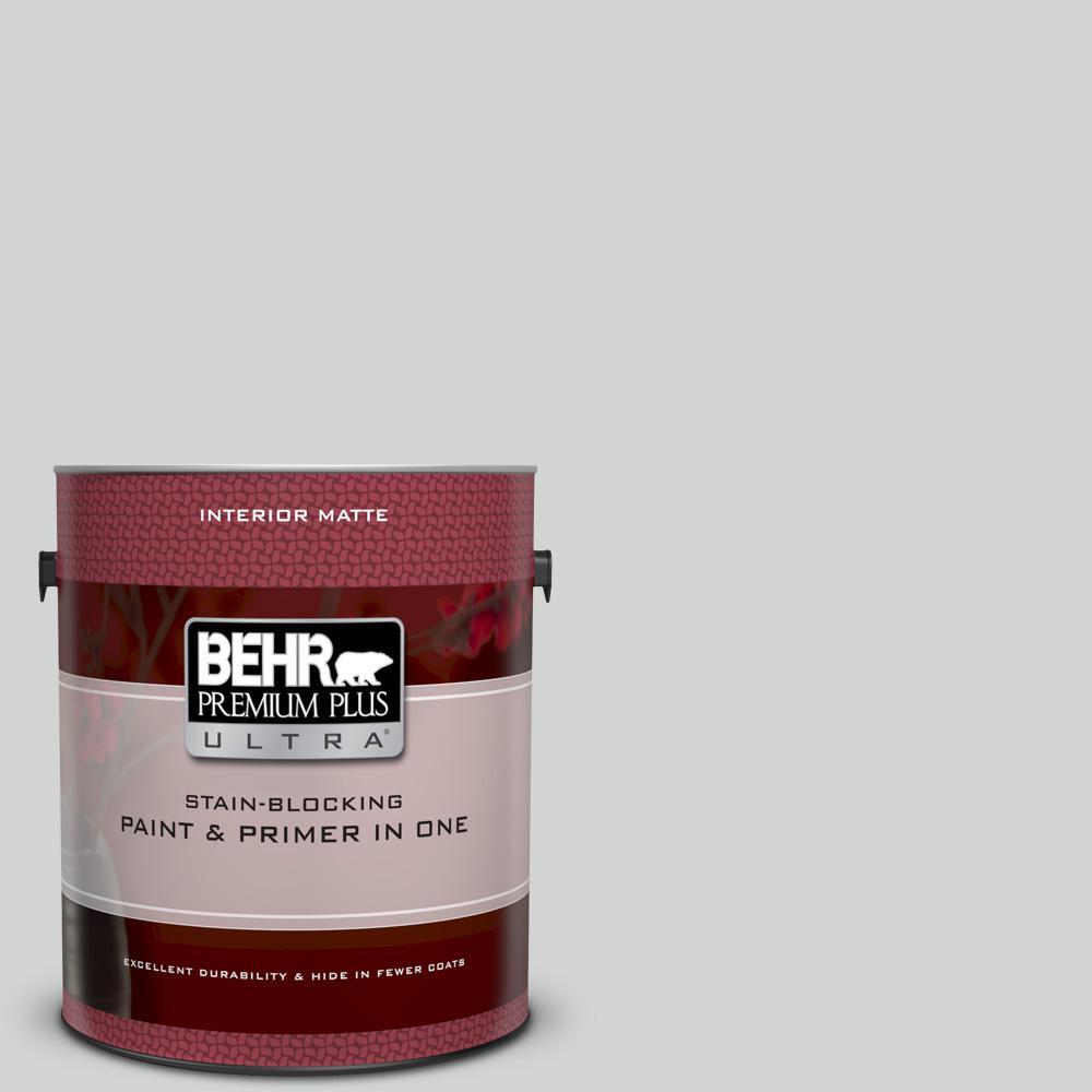 Behr premium plus ultra 1 gal ppu26 11 platinum matte - Best interior paint and primer in one ...