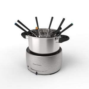 Click here to buy Trademark Stainless Steel Fondue Pot Set by Trademark.