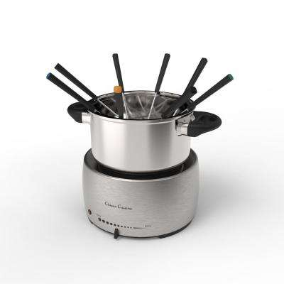 Stainless Steel Fondue Pot Set