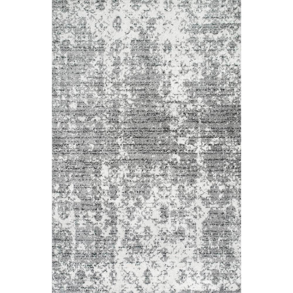 10 Round nuLOOM Misty Shades Deedra Area Rug Grey