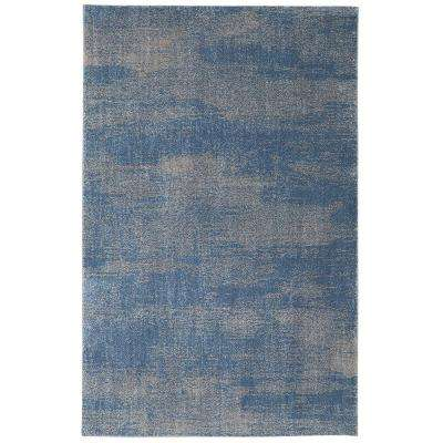 Chilmark Blue 10 ft. x 14 ft. Indoor/Outdoor Area Rug