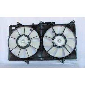 TYC Dual Radiator and Condenser Fan Assembly for 2002-2006 Mazda MPV  wd
