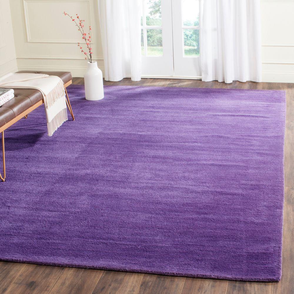 Purple And Lavender Rug: Safavieh Himalaya Purple 9 Ft. X 12 Ft. Area Rug-HIM610B-9