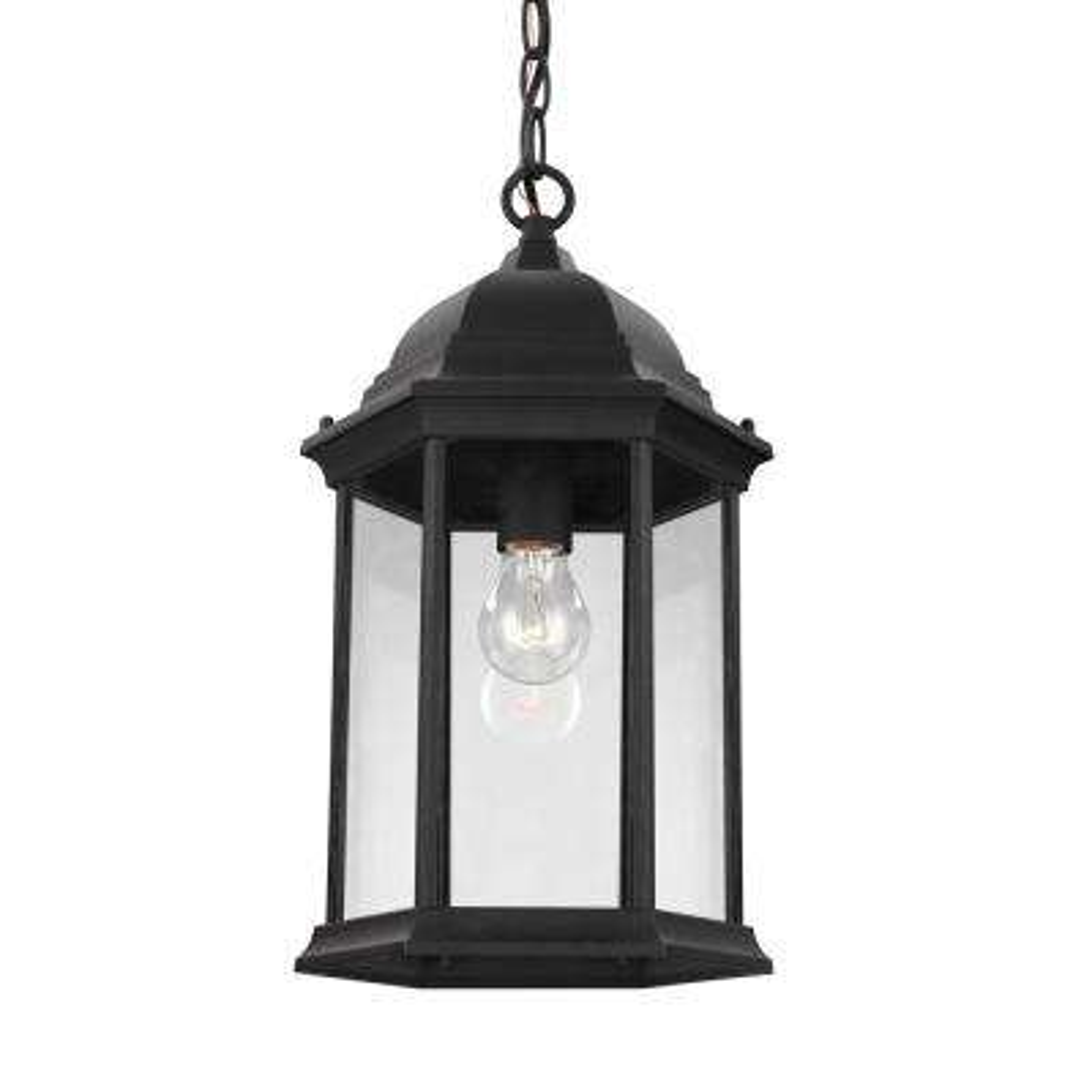 Sevier Black 1-Light Outdoor Hanging Pendant