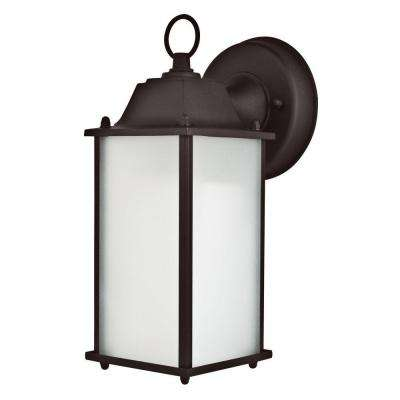 Voos 1-Light Oil-Rubbed Bronze Outdoor Wall Lantern