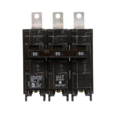 50 Amp 3-Pole Type BLH 22 kA Circuit Breaker