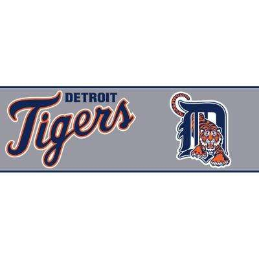 Boys Will Be Boys II Detroit Tigers Wallpaper Border