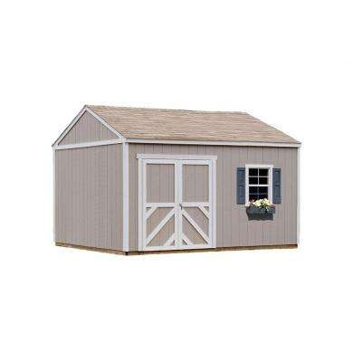 Columbia 12 ft. x 12 ft. Wood Storage Building Kit