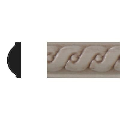1/4 in. x 5/8 in. x 4 ft. Hardwood Running Coin Strip Moulding