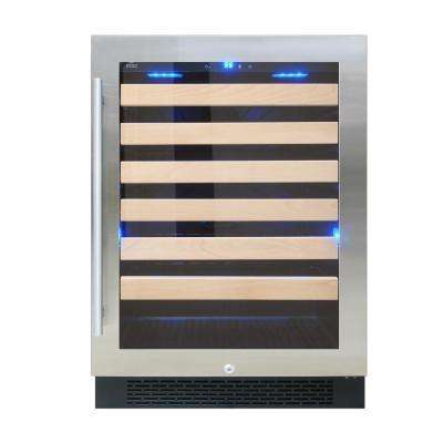 23 in. 54-Bottle Freestanding Wine Cooler