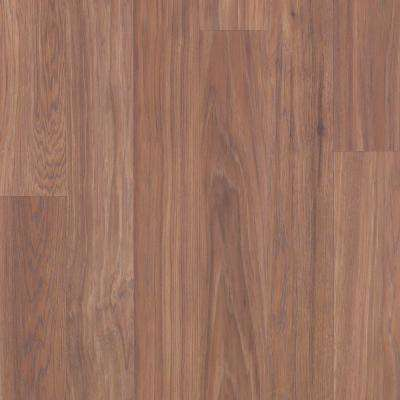 Take Home Sample - Willow Creek Collection Honey Caramel Hickory Laminate Flooring - 5 in. x 7 in.