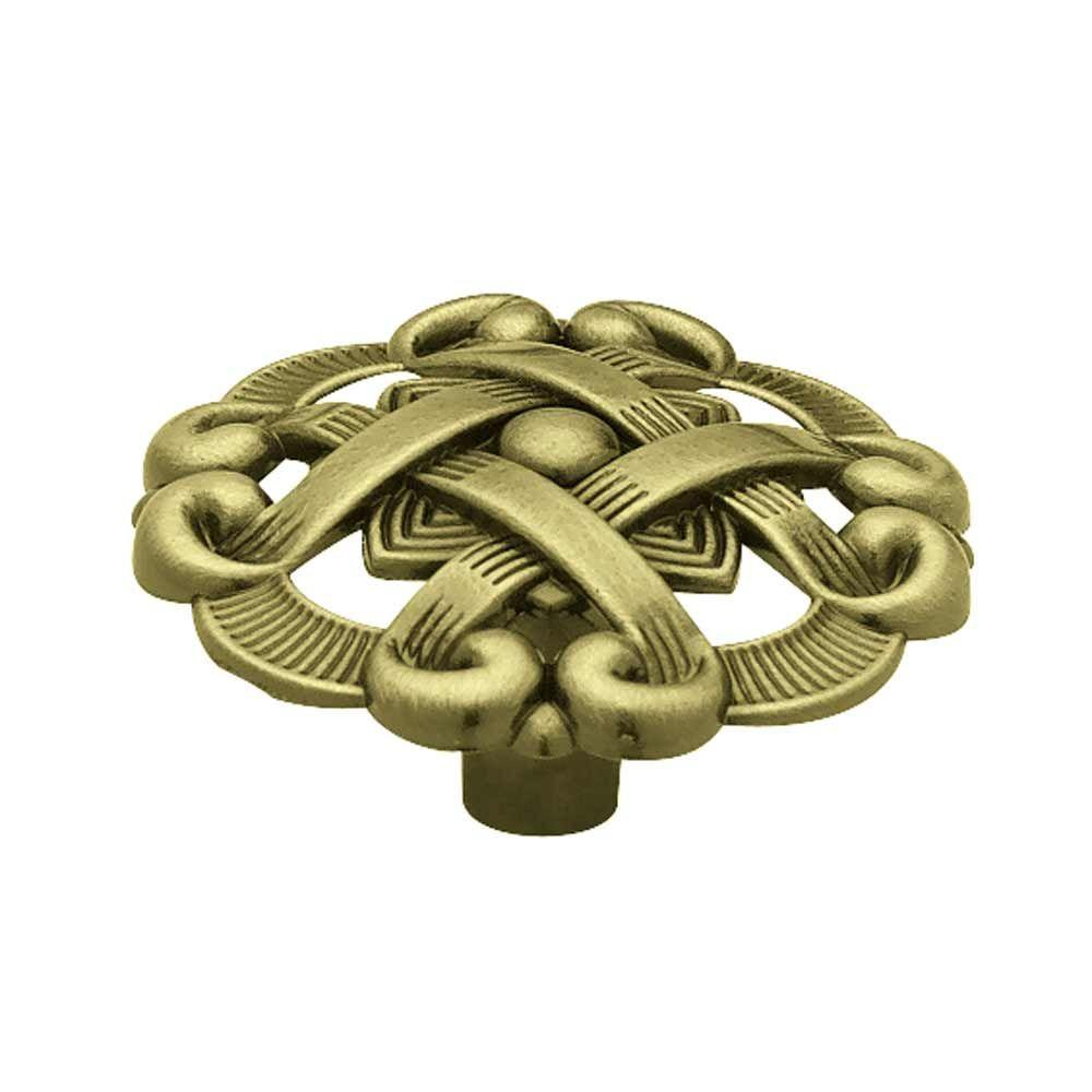 cheap furniture knobs. Antique Brass Weave Pattern Cabinet Knob Cheap Furniture Knobs B
