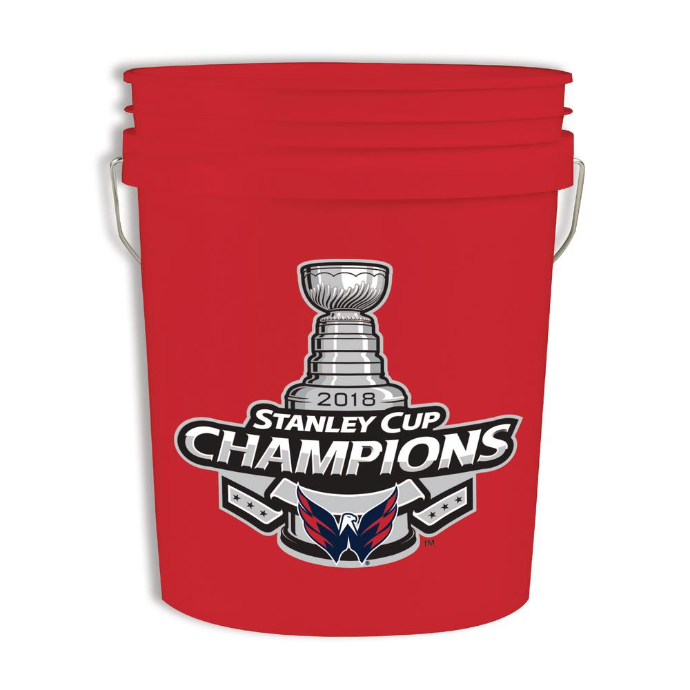 Leaktite 5 gal. Washington Capitals Bucket