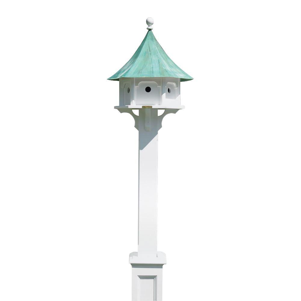 Lazy Hill Farm Designs Hammersley White Vinyl Post
