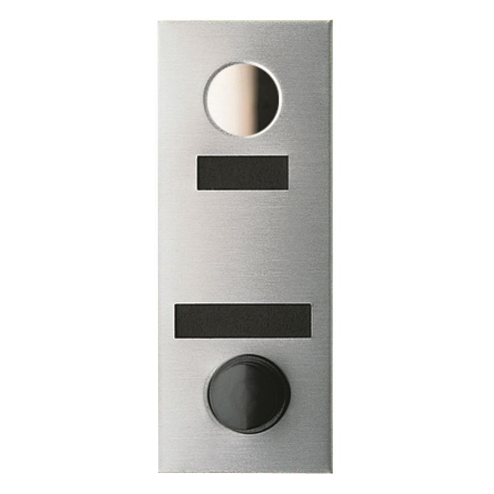 Auth-Chimes 90 Degree Anodized Silver Door Viewer with Mechanical Chime