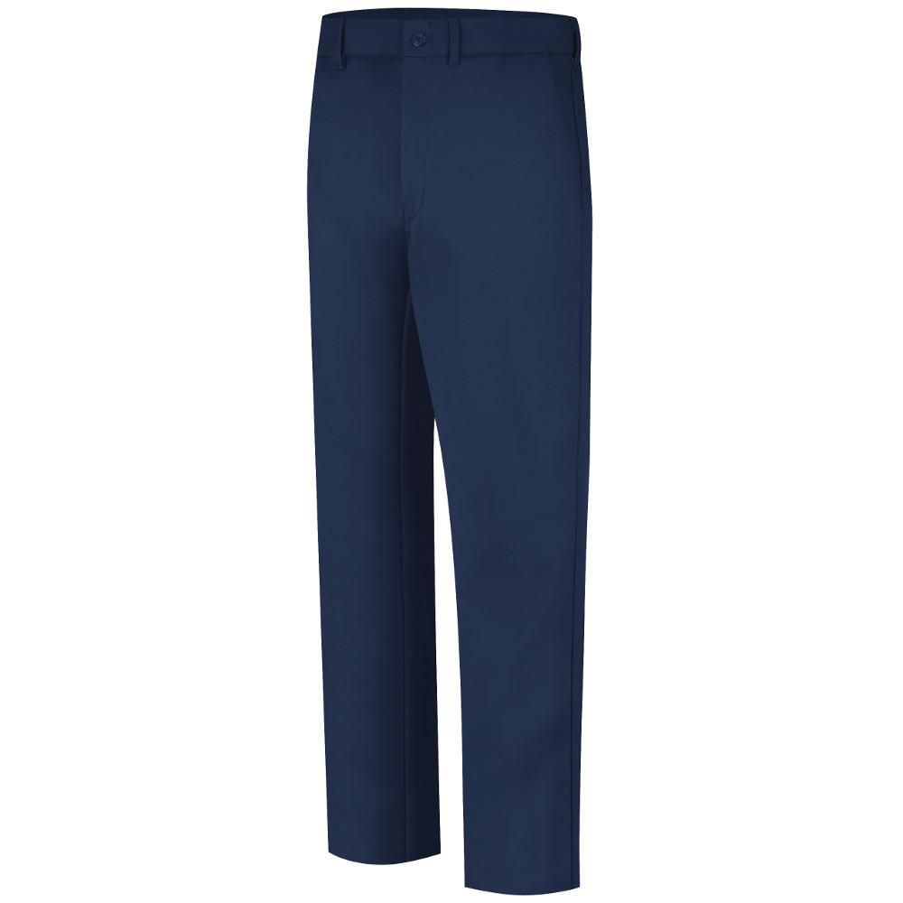 Bulwark Excel FR Men's 30 in. x 34 in. Navy (Blue) Work Pant