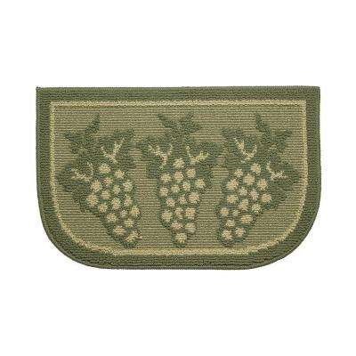 Valley Foliage 18 in. x 30 in. Kitchen Rug
