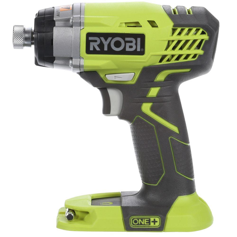 ryobi 18 volt one 1 4 in cordless impact driver tool. Black Bedroom Furniture Sets. Home Design Ideas