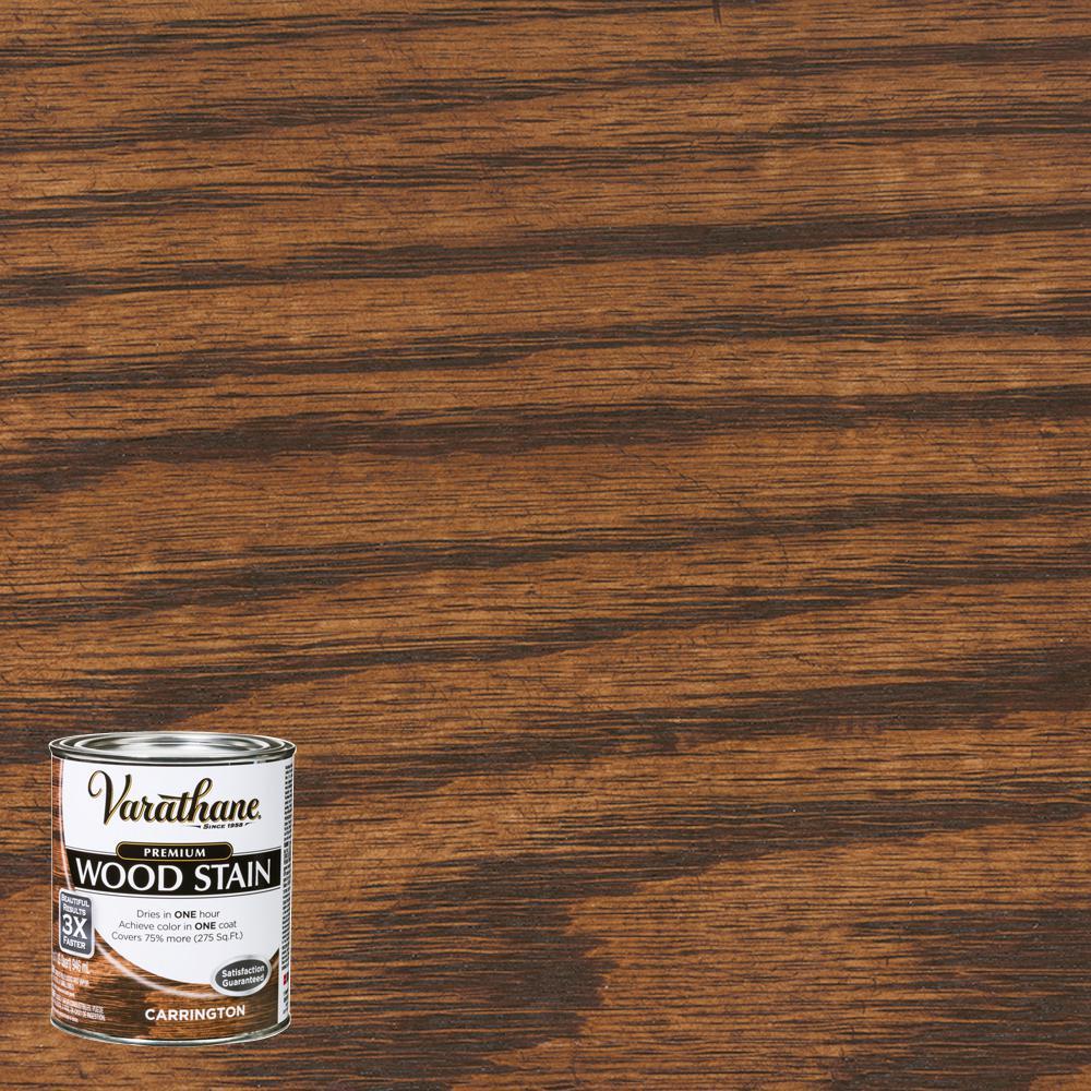 1 qt. Carrington Premium Fast Dry Interior Wood Stain