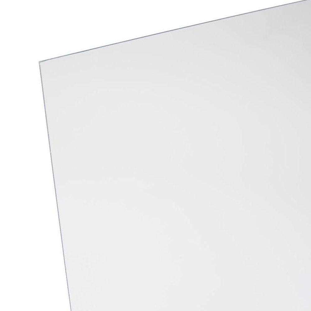 OPTIX 48 in. x 96 in. x 1/4 in. Clear Acrylic Sheet