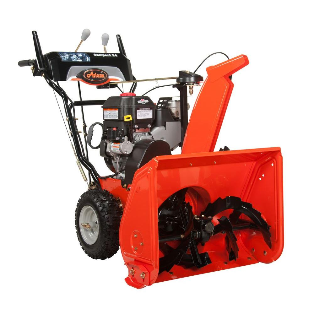 Ariens Compact 24 in. Two-Stage Electric Start Gas Snow Blower-DISCONTINUED
