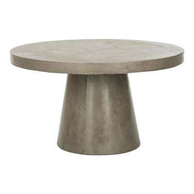 Delfia Dark Gray Stone Indoor/Outdoor Coffee Table